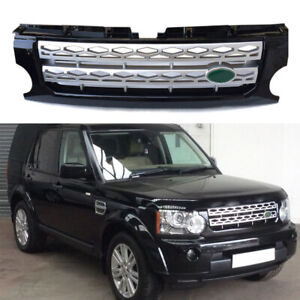 Abs Front Bumper Upper Vent Grille Grill For Land Rover Discovery3 Lr3 2005 2009