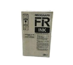 2 Riso S 2743 Blue Ink Oem Risograph Fr Usable For Rc Ra Gr