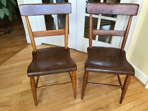 Vintage Pair Of Kitchen Chairs