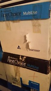 Weyerhaeuser First Choice Copy Paper Case Of 8 5x14 Paper Legal Size 24lb 98