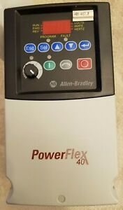 Allen Bradley 22b d6p0n104 a Powerflex 40 3 0 Hp refurbished