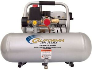 California Air Tools Electric Air Compressor 1 Hp Ultra Quiet Oil free Portable