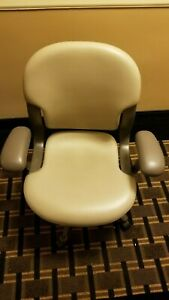 Herman Miller Tan Leather Office Chair Mint