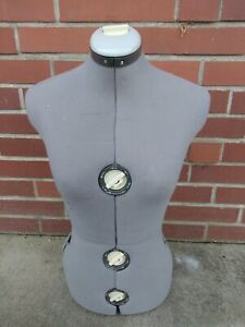 Singer Vintage Adjustable Dress Form No Stand Mannequin Preowned
