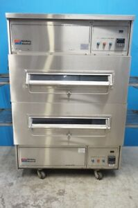 Middleby Marshall Double Stacked Conveyor Electric Pizza Oven