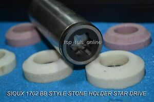 Customized Valve Seat Grinder Stone Holder Sioux 1702 Bb 375 Bore Star Drive