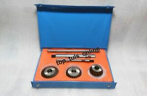 Valve Seat Cutter Tool Kit High Carbon Steel 45 Deg 70 Deg Stem Arbor Rod