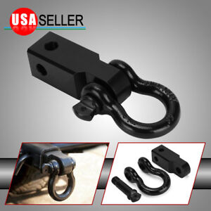 2 Trailer Hitch Receiver 3 4 D Ring Bow Shackle Rowing Tool
