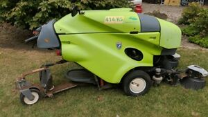414rs 414 Rs Green Machine Diesel Powered Ride On Sweeper 350 Hrs