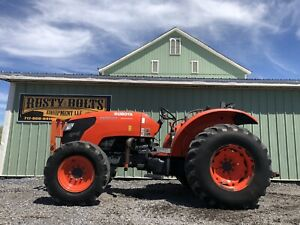 2012 Kubota M8540 4x4 Diesel Utility Tractor 86hp Low Cost Shipping Rates