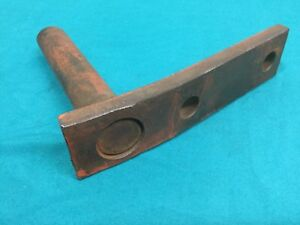 Allis Chalmers G Cultivator Spring Tooth Pin And Bracket