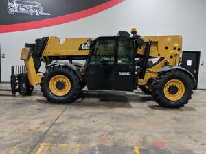 2014 Cat Caterpillar Tl1055c 10000lb Rough Terrain Telehandler Diesel Telescopic