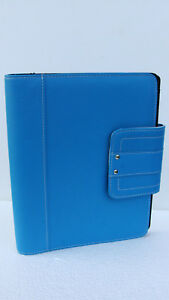 Classic desk 1 Rings Sim Leather Day timer Planner binder Snap franklin Covey