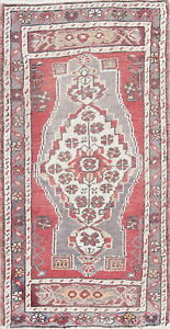 Old Collectable 2x3 Wool Handmade Orientric Anatolian Oushak Rug 3 4 X 1 11
