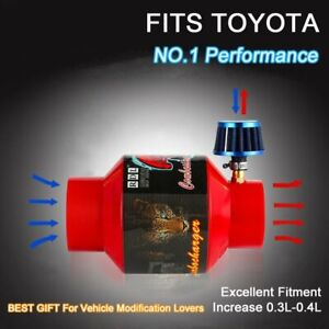 For Toyota Air In Supercharger Turbo Charger 12v Electric Universal Turbocharger