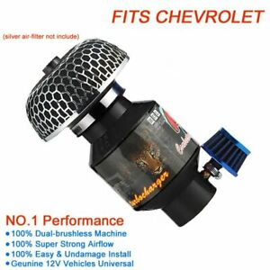 For Chevy Engine Supercharger Turbo Charger Kit Small Turbocharger Universal 12v