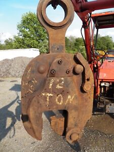 Renfroe 12 Ton Beam Plate Lifting Clamp 1 5 4 Model S12