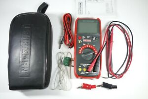 Craftsman Autoranging True Rms 82175 Digital Multimeter With Case And Extras