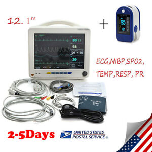 Pro icu Ccu Device Patient Monitor Medical Monitor Ecg nibp spo2 temp resp pr Us