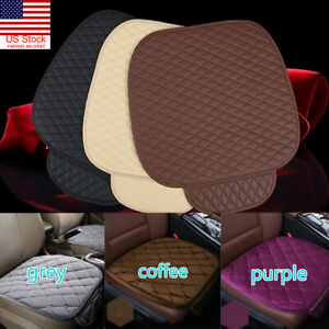 Us Universal Car Seat Cover Breathable Plush Pad Mat For Auto Chair Cushion