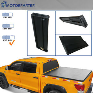 Tonneau Cover 6 5 Ft Truck Bed For 04 08 Ford F150 Pickup Truck 4 Fold