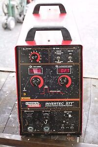 Lincoln Electric Invertec Stt Welder Power Source Pipe