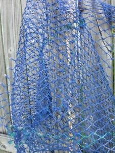 Authentic Beachcombed Fishing Net Remnant Lobster Crab Swag Nautical Tiki Decor