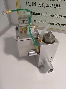 Medical Equipment Manifold Valve Part 1006467 Vsf0301566 Rev G Numatech Tm3 0047