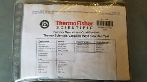 Thermo Scientific Vanquish Vwd Flow Cell 11 0ul And Acc Shown P n 6077 0200