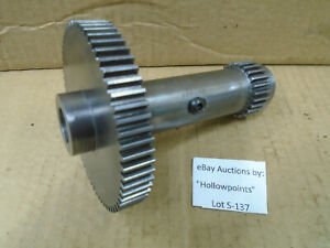 S137 Southbend 9 Model B Lathe Back Gear 24 62 Tooth Also Fit A C Us Navy