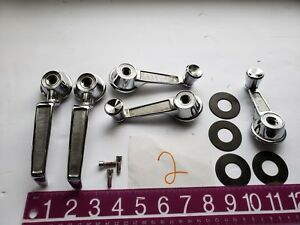 1966 Plymouth Barracuda Genuine Mopar Front Window Crank Handles 2299927