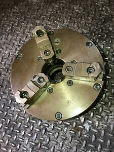 9 3 Jaw Self Centering Manual Buck Chuck With 2 5 Bore Hole
