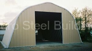 Durospan Steel A30x44x16 Metal Barn Workshop Storage Building Kit Factory Direct