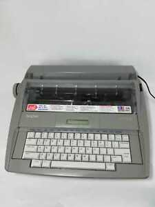Brother Sx 4000 Electric Electronic Typewriter With Cover Works Great