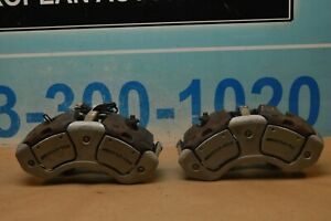 2011 W221 Mercedes S63 Cl63 Amg Front Right Left Brake Caliper Calipers Pair