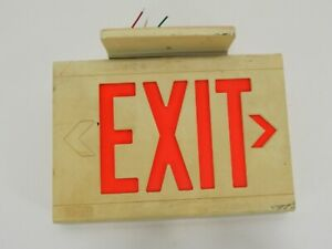Dual Lite Exit Signs 006 1802 Not Tested