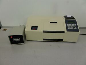 Rudolph Instruments Digipol 781 Automatic Polarimeter With Arc Lamp Power Supply