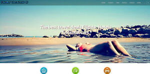 Travel Website With Premium Hosting 100 Automated Money Maker