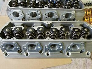 Trick Flow Twisted Wedge Race 225 Cylinder Heads For Small Block Ford Pair