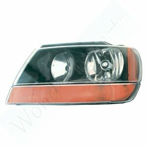 1999 2002 Head Driver Side Lamp Replacing For Jeep Grand Cherokee Laredo Light