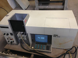 Perkin elmer 3030 Atomic Asorption Spectrophotometer No Accessories