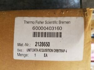 Thermo Scientific Unit Data Acquisition Orbitrap 4 P n 2128650 01