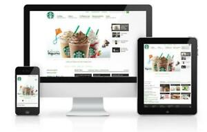 Web Design Service 5 Page Custom Website Design Package Includes Content