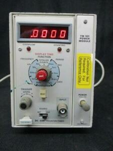 Tektronix Dc 504 Counter Timer W Tm 501 Power Module