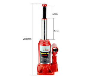 12 Ton 24 000 Lbs Lift Hydraulic Bottle Jack Truck Suv Off Road Automotive Tool