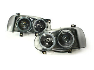 Volkswagen Mk3 Golf gti Smoke Frame Hella Style Dual Round Projector Headlamps