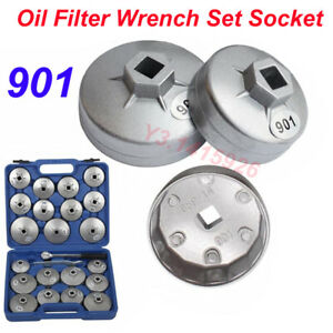 901 Cap Type Oil Filter Wrench Set Socket Automotive Removal Kit Hand Tools 1pc