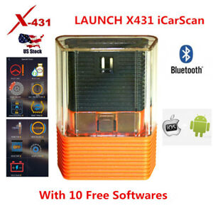 Launch X431 Icarscan M Diag Easydiag Obd2 Code Reader With 10 Free Softwares