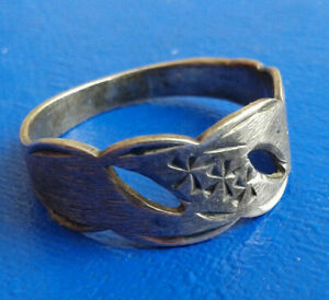 Vintage Silver Ring 916 Ussr Very Rare