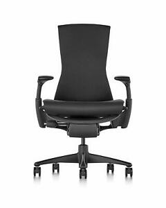 Herman Miller Embody Chair Fully Adj Arms Graphite Frame base Standard